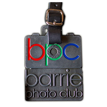 Barrie Photo Club Golf Bag Tag