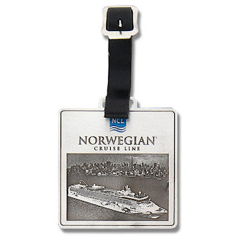 Norwegian Luxury Cruise Line Golf Bag Tag