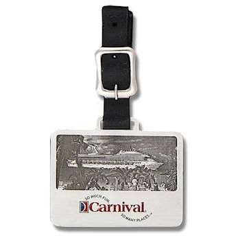 Carnival Luxury Cruise Lines Golf Bag Tag