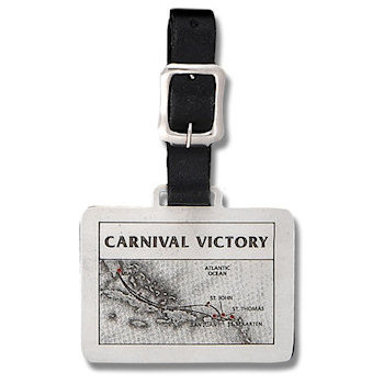 Carnival Victory Luxury Cruiseline Golf Bag Tag