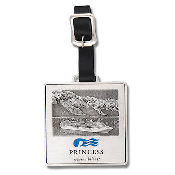 Princess Luxury Cruiseline Golf Bag Tag