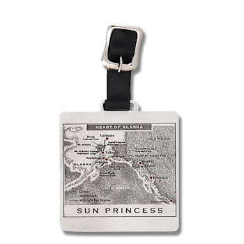 Sun Princess Luxury Cruiseline Golf Bag Tag