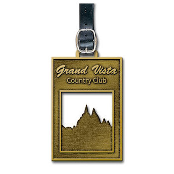 Grand Vista Country Club Golf Bag Tag