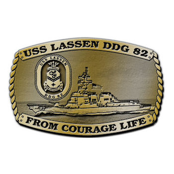 USS Lassen DDG 82 - From Courage Life