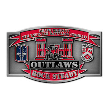 9th Engineer Battalion Combat - Outlaws - Rock Steady