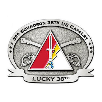 38th US Cavalry - Lucky 38th