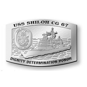 USS Shiloh CG 67 missile cruiser - Dignity Determination Honor