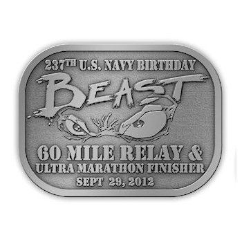 United States Navy Birthday Beast Ultra Marathon Finisher
