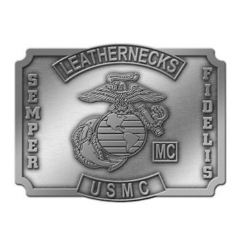 United States Marines Motorcycle Club Belt buckle