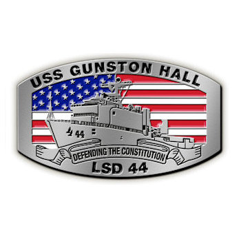 USS Gunston Hall - LSD 44 - Defending the Constitution