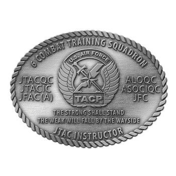 Joint Terminal Attack Controller Instructor Belt Buckle