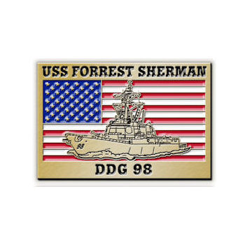 USS Forrest Sherman DDG 98 - Arleigh Burke-class guided missile destroyer