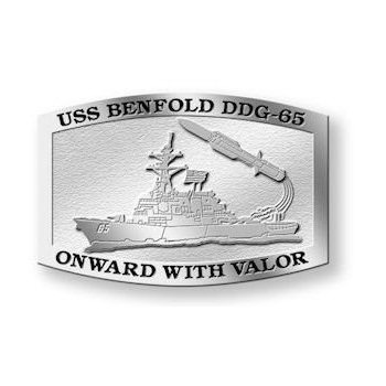 USS Benfold DDG-65 - Onward with Valor