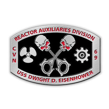 Reactor Auxiliaries Division - USS Dwight D. Eisenhower - nuclear-powered aircraft carrier