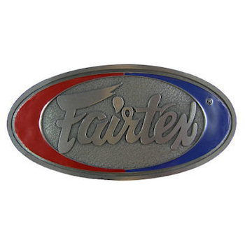 Corporate logo boxing belt buckle