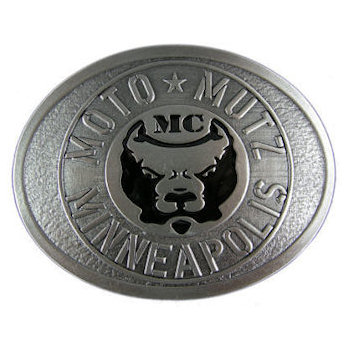 Motorcycle Club belt buckle