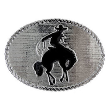 Bucking Bronco Western Cowboy belt buckle
