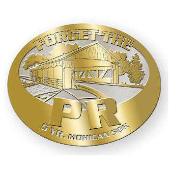 Ultra run belt buckle with covered wooden bridge