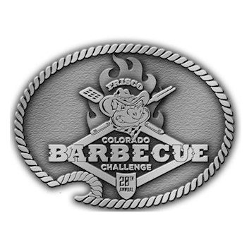 Barbecue belt buckle with bottle opener and chain border