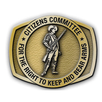 Gun rights advocacy rectangular belt buckle with round overlay of soldier and rilfe