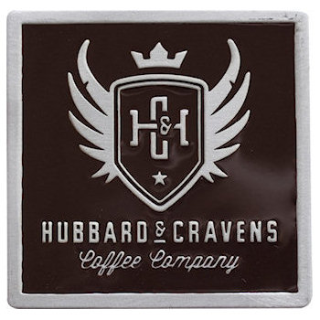 Hubbard & Cravens Coffee Company Belt Buckle
