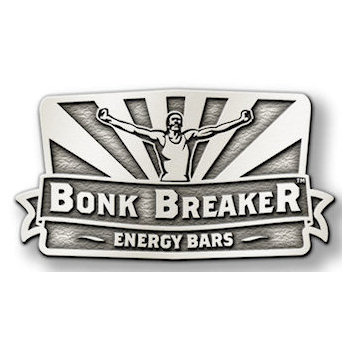 Bonk Breaker Energy Bars with Athlete and Rays over banner