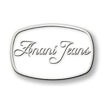 White color fill Anani Jeans fashion buckle
