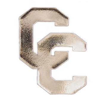 Letter C cut out belt buckle