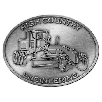 High Country Engineering Buckle with Motor/Road Grader