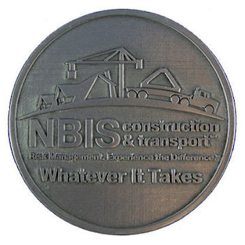 Nations Builders Insurance Services, Inc. Construction & Transport - Whatever It Takes Belt Buckle