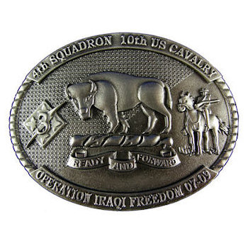 Operation Iraqi Freedom - 4th Squadron, 10th US Cavalry