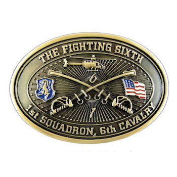 The Fighting Sixth - 1st Squadron, 6th Cavalry