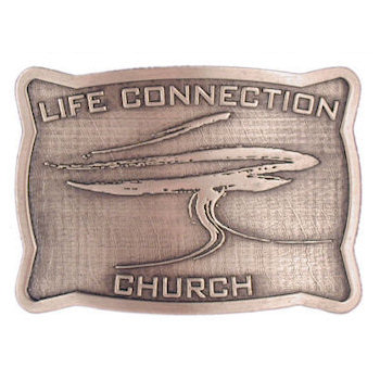 Life Connection Church belt buckle