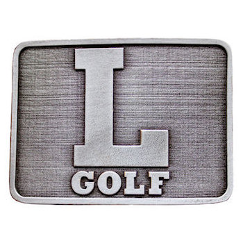 Golf Logo belt buckle