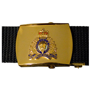 Royal Canadian Mounted Police Buckle