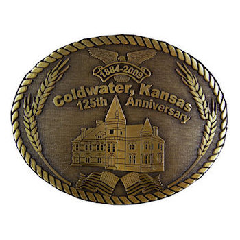 Commemorative School belt buckle