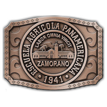 Panamerican Agriculture University Belt Buckle