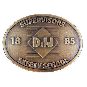 Safety School belt buckle