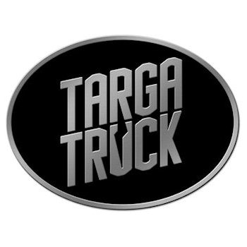 Cool buckle for Targa Truck owners with logo in color background