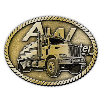 Long Haul Trucking Belt Buckle
