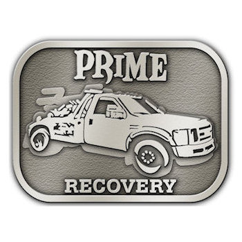 Recovery Tow Truck Belt Buckle