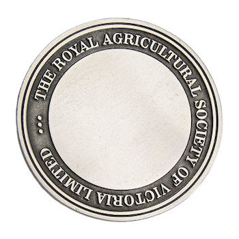 Royal Agricultural Society of Victoria Limited Coin