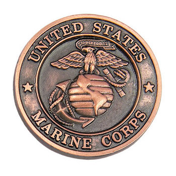 Commemorative United States Marine Corps Coin