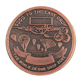 Air force recognition coin