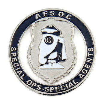Special Ops-Special Agents AFSOC Coin
