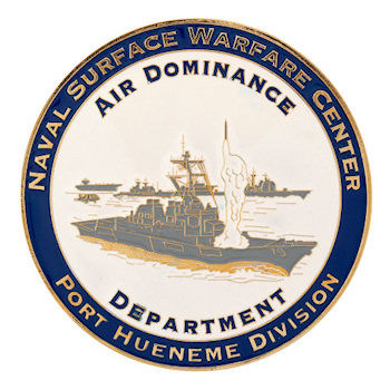 Naval Surface Warfare Center - Port Hueneme Division Coin