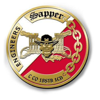 Army Combat Engineer Coin