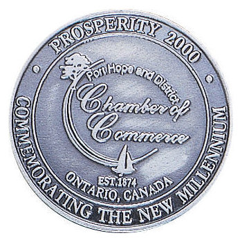 Port Hope and District Chamber of Commerce New Millennium Coin