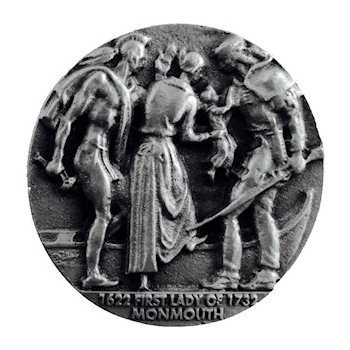Commemorating coin for a heritage event with fine 3D detail