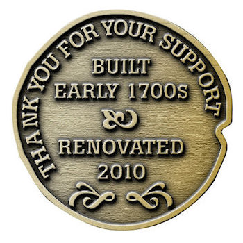 Built and Renovated - Thank you for your support Coin